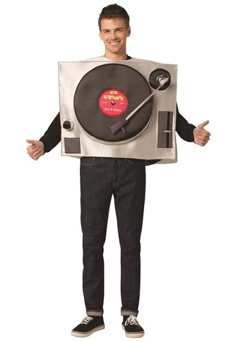 Adult Turntable Costume