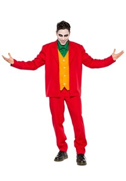Men's Leisure Suit Villian Costume