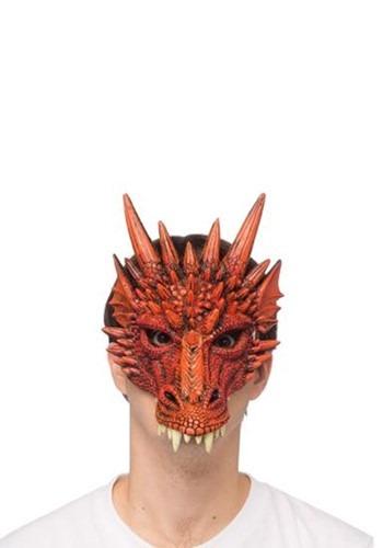 Red Dragon Half Mask