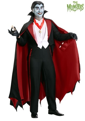 The Munsters Adult Plus Size Grandpa Munster Costume