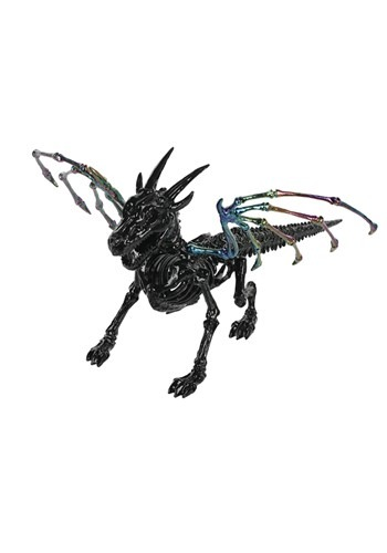 "7"" Oil Slick Skeleton Dragon"