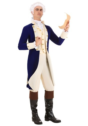 Men's Alexander Hamilton Costume