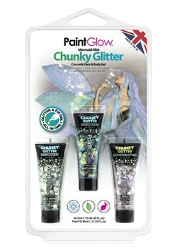 Mermaid Chunky Glitter Gels Set