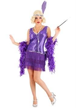 Women's Amethyst Flapper Costume