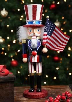 15 inch Wooden Uncle Sam Nutcracker_Update