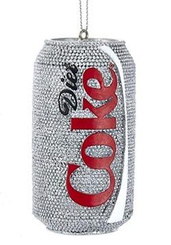 Diet Coke Can Resin Ornament