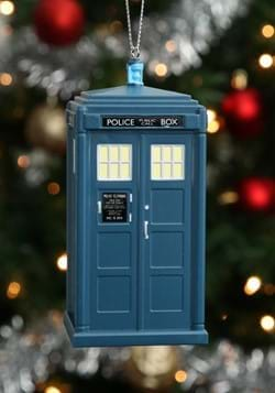 Blowmold Ornament Doctor Who Tardis