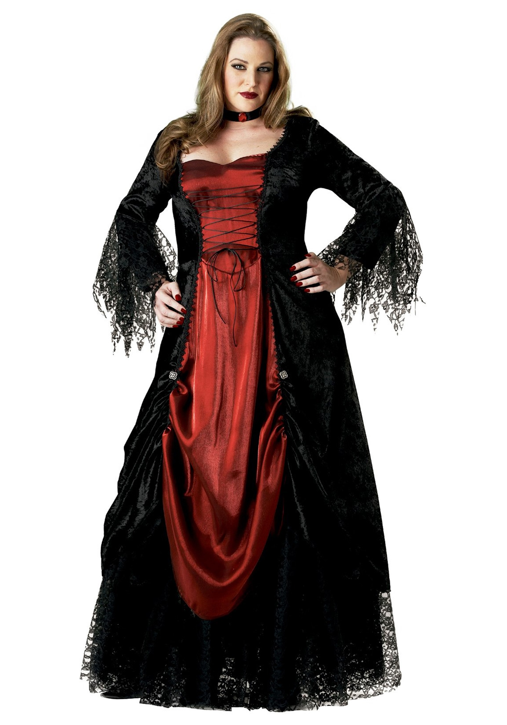 womens halloween costumes plus size womens plus size vampire costume