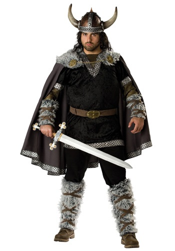 Plus Size Viking Warrior Costume