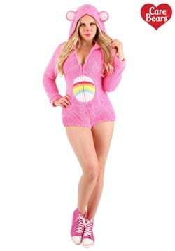 Women's Cheer Bear Romper Costume