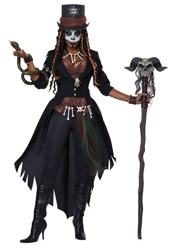 Plus Voodoo Magic Costume Women's