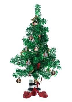 Miniature Wizard of Oz Tinsel Christmas Tree Decoration