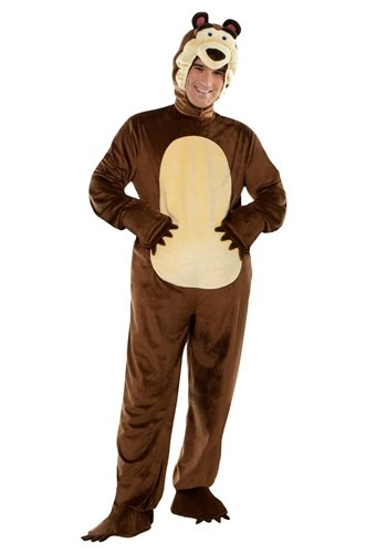 Masha and the Bear Adult Bear Costume