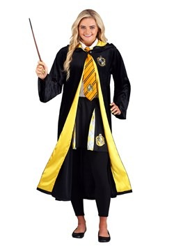 Harry Potter Adult Deluxe Hufflepuff Robe