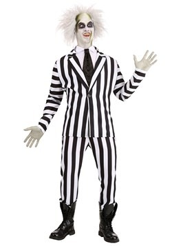 Beetlejuice Plus Size Adult Costume