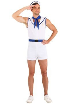 Men's Sunbathing Sailor Costume