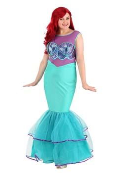 Plus Size Women's Shell-a-brate Mermaid Costume