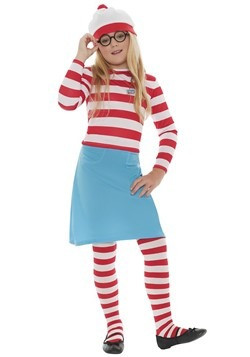 Where's Wally? Girls Wenda Costume