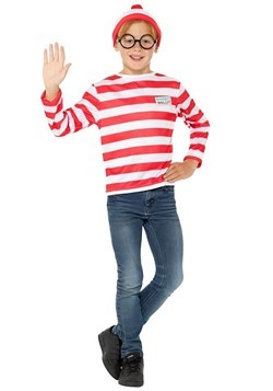 Where's Wally? Child Wally Costume Kit