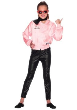 Grease Girls Pink Ladies Costume