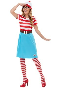 Where's Wally? Adult Wenda Costume