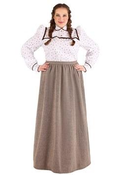 Plus Size Women's Westward Pioneer Costume
