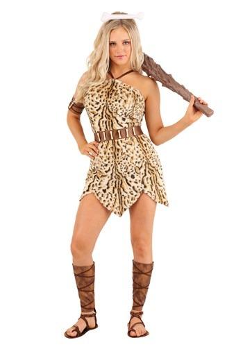 Women's Bold Cavewoman Costume
