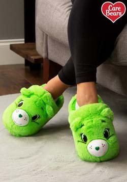 Adult's Good Luck Care Bear Slippers
