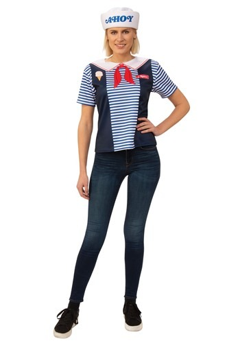 Stranger Things Robin Scoops Ahoy Adult Costume