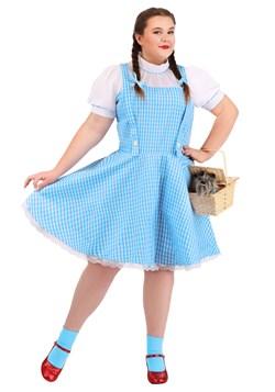 Plus Size Wizard of Oz Dorothy Costume1