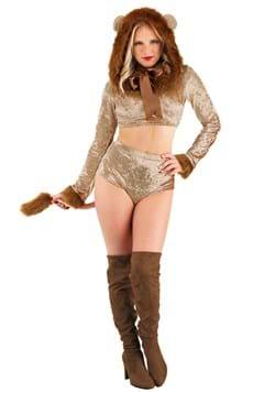 Women's Luxurious Lion Costume