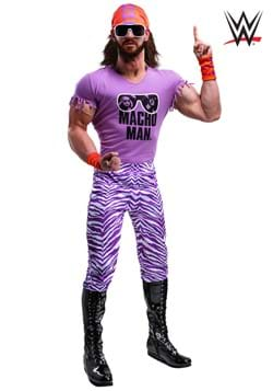 Men's WWE Macho Man Madness Plus Size Costume
