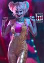 Women's Harley Quinn Gold Overalls Costume Alt 7 Upd