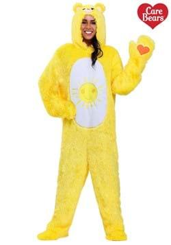Plus Size Care Bears Funshine Bear Costume1