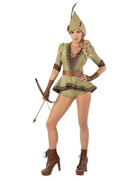 Women's Sexy Heroic Hottie Costume