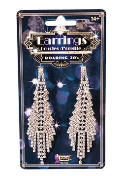 Fancy Flapper Costume Earrings