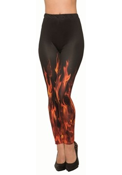 Devil Fire Sublimation Leggings