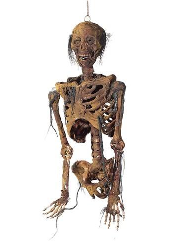 Hanging Light Up Rotting Skeleton Torso Decoration
