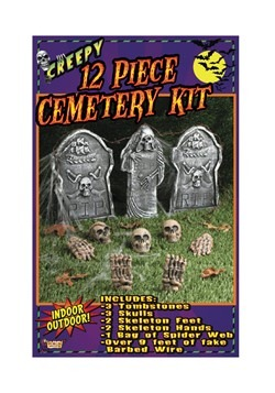 12 pc Cemetery Kit