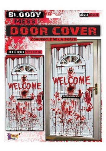 """30"""" x 60"""" Bloody Mess Door Cover"""