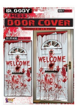 "30"" x 60"" Bloody Mess Door Cover"