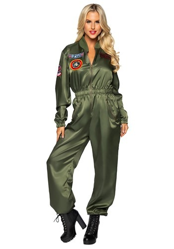 Top Gun Women's Flight Suit Costume