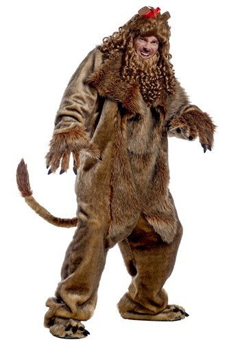Wizard of Oz Adult Cowardly Lion Costume