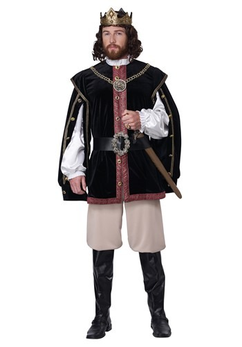 Men's Elizabethan King Costume