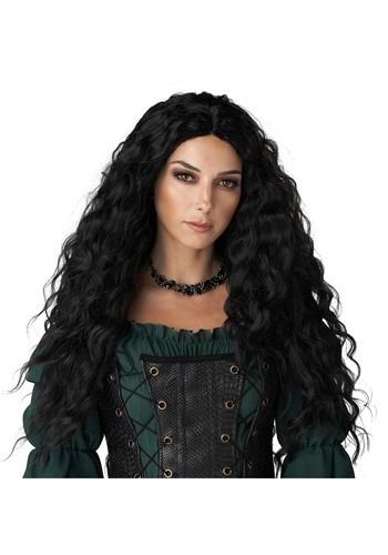 Women's Black Renaissance Wig