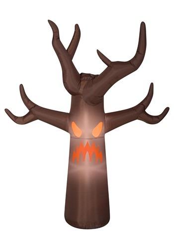 Airblown-Fog Effect-Haunted Brown Tree Decoration