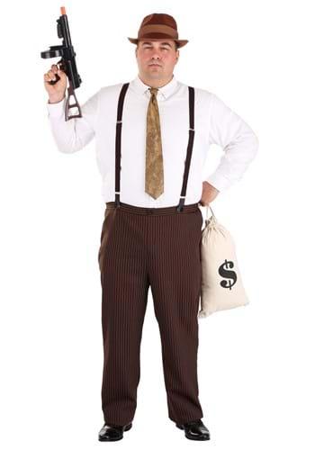 Men's Plus Size Clyde Costume