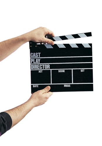 Movie Clapper Board Accessory