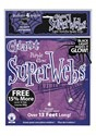 Purple Glow Spider Web Black Light Activated 60g