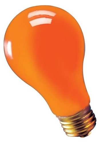 75w Orange Light Bulb